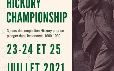 Comment participer et s'inscrire au French Hickory Championship ?