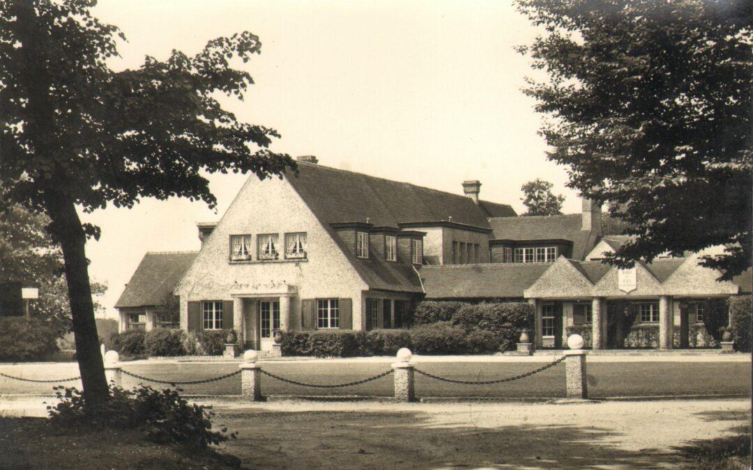 Le golf de Lys Chantilly à sa création
